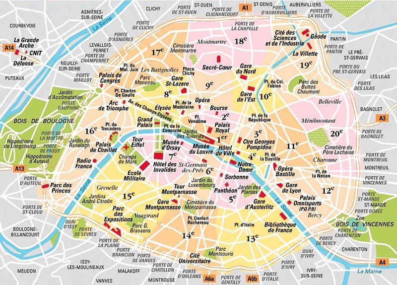 Parigi • Prima di partire ~ Apprendista Giramondo